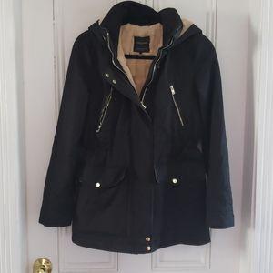 Trafaluc Outerwear faux fur lined Jacket